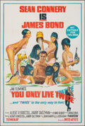 "Movie Posters:James Bond, You Only Live Twice (United Artists, 1967). Folded, Very Fine-. Australian One Sheet (27"" X 40""). James Bond.. ..."