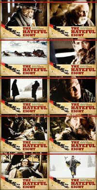 "The Hateful Eight (Weinstein, 2015). Near Mint-. Roadshow Lobby Card Set of 19 (11"" X 14""). ... (Total: 19 Ite..."