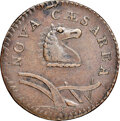 Colonials, 1786 New Jersey Copper, Curved Plowbeam, Maris 23-P, W-4940, R.4, XF40 NGC. ...
