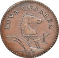 Colonials, 1787 New Jersey Copper, Sprig Above Plow, Maris 63-r, W-5370, R.5, AU53 NGC. ...