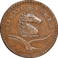 Colonials, 1786 New Jersey Copper, No Coulter, Maris 12-I, W-4795, R.5, XF45 NGC. ...