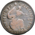 Colonials, 1786 Immunis Columbia Copper, New Jersey Shield, Maris 3-C, W-5670, High R.6--Corrosion--NGC Details. VF. ...