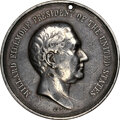 Indian Peace Medals, 1850 Millard Fillmore Peace Medal, Small Size, Julian IP-31, Silver--Scratched--NGC Details. XF. ...