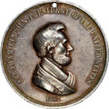 Indian Peace Medals, 1862 Abraham Lincoln Peace Medal, Small Size, Julian IP-39, Silver, AU50 NGC. ...