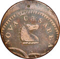 Colonials, 1786 New Jersey Copper, Curved Plowbeam, Maris 23-P, W-4940, R.4--Off Center--Fine 12 NGC. ...