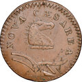 Colonials, 1786 New Jersey Copper, Curved Plowbeam, Maris 23-R, W-4945, R.3--Reverse Lamination--XF45 NGC. ...
