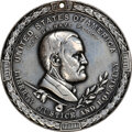 1871-Dated Grant Silver Peace Medal, Julian IP-42 Middle Size, Silver--Burnished--NGC Details. XF