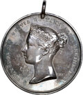 Indian Peace Medals, 1860 Great Britain Victoria Peace Medal, BHM-1975, Silver--Polished--NGC Details. AU. ...