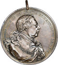Indian Peace Medals, 1814-Dated Great Britain Peace Medal, Silver, Jamieson-24, AU58 NGC....