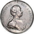 Indian Peace Medals, Undated (Circa 1776-1820) Great Britain George III Peace Medal, Silver, Jamieson-18, XF40 NGC. ...