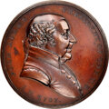 1797-Dated (Post-1861) John Adams Peace Medal, Small Size, First Reverse, Julian IP-1, MS64 Brown NGC