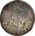 Colonials, 1739-A French Colonies Half Sou Marque, Vlack-294, VF25 NGC. ...