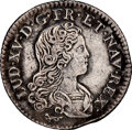 Colonials, 1720-A French Colonies 20 sols, KM-453--Cleaned--NGC Details. AU. ...