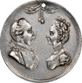 Undated (Circa 1761) Great Britain George III & Charlotte, Silver--Cleaned--NGC Details. AU
