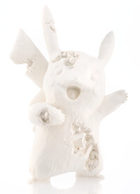 Daniel Arsham x Pokemon Crystalized Pikachu Future Relic, 2020 Cast resin and aluminum oxide 13 i