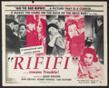 "Movie Posters:Crime, Rififi (Gaumont, 1955). Half Sheet (22"" X 28""). Crime. Starring Jean Servais, Carl Möhner, Robert Manuel, Magali Noël and Pe..."