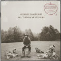 """Music Memorabilia:Recordings, George Harrison """"All Things Must Pass"""" Sealed LP (Apple 639, 1970). With the Beatles' breakup, George cut loose with this ..."""