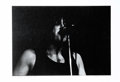 "Music Memorabilia:Photos, Chicago - Terry Kath Limited Edition Concert Photo. A b&w 19"" x13"" photo of late Chicago guitarist Terry Keith during a liv..."