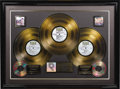 """Music Memorabilia:Awards, """"Woodstock"""" RIAA Gold Album Award and Poster. Presented to producer and Woodstock co-founder Artie Kornfeld by the RIAA to c..."""