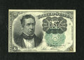 Fractional Currency:Fifth Issue, Fr. 1264 10c Fifth Issue Choice New. A very pleasing example ofthis much scarcer green seal Meredith note which exhibits ra...
