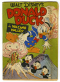 "Golden Age (1938-1955):Cartoon Character, Four Color #147 Donald Duck in ""Volcano Valley"" (Dell, 1947)Condition: VG...."