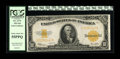 Large Size:Gold Certificates, Fr. 1173 $10 1922 Gold Certificate PCGS Choice About New 55PPQ.Plenty of embossing remains visible on this brightly inked, ...