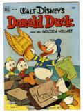 Golden Age (1938-1955):Funny Animal, Four Color #408 Donald Duck and the Golden Helmet (Dell, 1952)Condition: FN+....