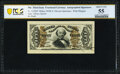 Fr. 1329SP 50¢ Third Issue Spinner PCGS Banknote About Uncirculated 55