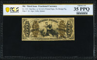 Fr. 1351 50¢ Third Issue Justice PCGS Banknote Choice Very Fine 35 PPQ
