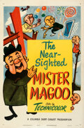 """Movie Posters:Animation, Mr. Magoo (Columbia, 1950). Very Fine on Linen. Stock One Sheet (27"""" X 41"""").. ..."""
