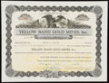 Six California Stock Certificates. Very Fine or Better. ... (Total: 6 items)