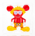 Collectible, The Estate of Keith Haring X 360 Toy Group. Andy Mouse (Red), 2005. Painted cast vinyl. 7 x 6 x 4 inches (17.8 x 15.2 x ...