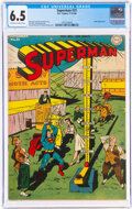 Golden Age (1938-1955):Superhero, Superman #31 (DC, 1944) CGC FN+ 6.5 Off-white to white pages....