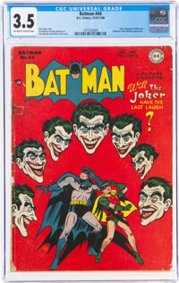 Batman #44 (DC, 1947) CGC VG- 3.5 Off-white to white pages