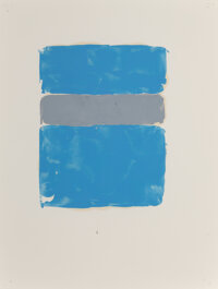 John Zinsser (b. 1961) Compressions (four works), 2004 Oil on Arches paper 16 x 12 inches (40.6 x