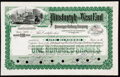 Nine Pennsylvania Stocks and Bond Certificates. Very Fine or Better. ... (Total: 9 items)