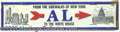 Political:3D & Other Display (1896-present), AL SMITH LICENSE PLATE. This scarce, highly-desirable variety fe...