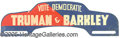 Political:3D & Other Display (1896-present), TRUMAN BARKLEY LICENSE PLATE. Most unusual variety for a tough t...