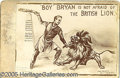 Photography:Cabinet Photos, MOST UNUSUAL BRYAN CARTOON CABINET PHOTO. Actual photo of cartoo...