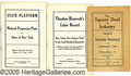 Political:Small Paper (1896-present), THEODORE ROOSEVELT POLITICAL PAMPHLETS. Group of five different ...