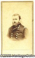 Photography:CDVs, U.S. GRANT CARTE-DE-VISITE. Fine from-life image of the foremost...