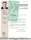 Political:Small Paper (1896-present), (11)FLYERS (4) WITH REAGAN'S PORTRAIT AND ONE TICKET PROMOTING 1...