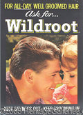 Political:Advertising, WILDROOT HAIR AD PICTURING RONALD REAGAN. This Wildroot...