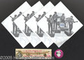Entertainment Collectibles:Music, BEATLES NAPKINS - MIKE NESMITH PINBACK - ELVIS PRESLEY BRACELET....