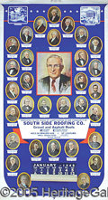 Political:Advertising, LARGE MULTI-COLOR 1946 HARRY TRUMAN ADVERTISING CALENDAR. Pre...