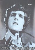 Autographs:Statesmen, YOUNG JOHN KERRY VINTAGE AUTOGRAPHED POSTER. Early poster pic...
