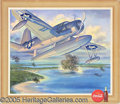 Advertising:Soda Items, 1943 COCA COLA PREMIUM OF WWII FIGHTING PLANE. Very interesting ...
