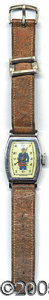 Entertainment Collectibles:Comic Character, VINTAGE DICK TRACY WRIST WATCH. What kid of the 1950's didn't wa...