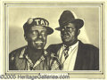 "Entertainment Collectibles:Movie, AMOS 'N ANDY LOBBY CARD. 12 x 9"" black&..."