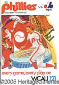 Miscellaneous, 1971 PHILADELPHIA PHILLIES 1ST GAME AT VETERANS STADIUM PROGRAM....